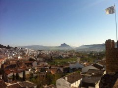 Antequera in de winter